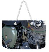 Bsa Motorcycle Weekender Tote Bag