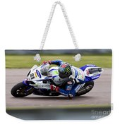 Bsb Superbike Rider John Hopkins Weekender Tote Bag