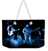 Bto In Spokane 1976 Blue Art Weekender Tote Bag