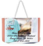 Bubbas Seafood House - Crabs Weekender Tote Bag