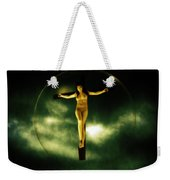 Bubble Crucifix Weekender Tote Bag