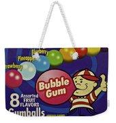 Bubble Gum Weekender Tote Bag
