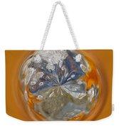 Bubble Out Of Orange Orb Weekender Tote Bag