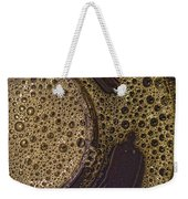 Bubbles And Metal Abstract Weekender Tote Bag
