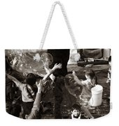 Bubbles And Kids - Central Park Sunday Weekender Tote Bag