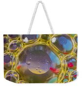Bubbles Background Weekender Tote Bag