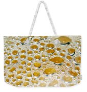 Bubbles Of Steam Amber Weekender Tote Bag