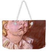 Bubbles Pastel Portrait Weekender Tote Bag