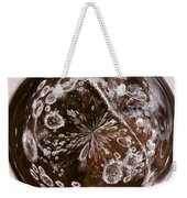 Bubbles Within Bubble Weekender Tote Bag by Anne Gilbert