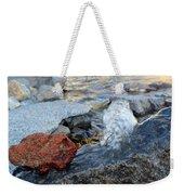 Bubbling Rocks Weekender Tote Bag