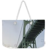 Bubbly St.johns Bridge Weekender Tote Bag