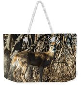 Buck In The Woods Weekender Tote Bag