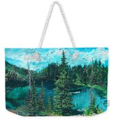 Buck Lake Weekender Tote Bag