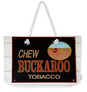 Buckaroo  Weekender Tote Bag
