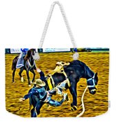 Bucked Off Proper Weekender Tote Bag