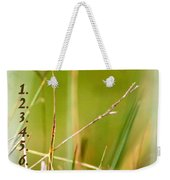 Bucket List - Blank List Weekender Tote Bag