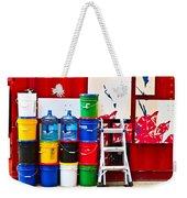 Buckets Of Color Weekender Tote Bag