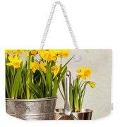 Buckets Of Daffodils Weekender Tote Bag by Amanda Elwell