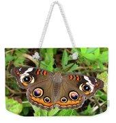Buckeye Butterfly Weekender Tote Bag