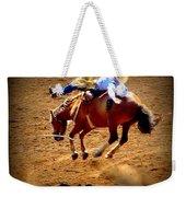 Bucking Broncos Rodeo Time Weekender Tote Bag