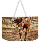 Bucking Weekender Tote Bag by Caitlyn  Grasso