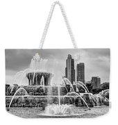 Buckingham Fountain - 1 Bw Weekender Tote Bag