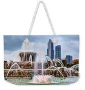 Buckingham Fountain #1 Weekender Tote Bag