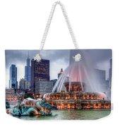 Buckingham Fountain - 2 Weekender Tote Bag
