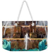 Buckingham Fountain Closeup Weekender Tote Bag