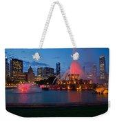 Buckingham Fountain Light Show Weekender Tote Bag