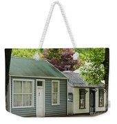 Buckingham Street Cottages Weekender Tote Bag