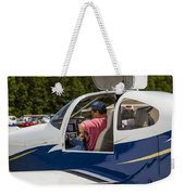 Buckle Up Weekender Tote Bag