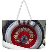 Buckled Wheel Weekender Tote Bag