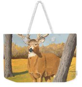 Bucky The Deer Weekender Tote Bag