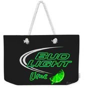 Bud Light Lime 2 Weekender Tote Bag