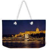 Buda Castle And Chain Bridge Weekender Tote Bag