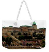 Buda Castle In Budapest Weekender Tote Bag