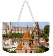 Buda Reformed Church In Budapest Weekender Tote Bag