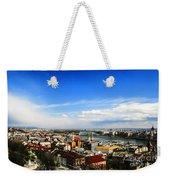 Budapest And Blue Danube Weekender Tote Bag