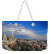 Budapest And Fisherman's Bastion Weekender Tote Bag