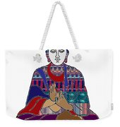 Buddha In Meditation Buddhism Master Teacher Spiritual Guru By Navinjoshi At Fineartamerica.com Weekender Tote Bag