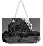Buddha Eyes On Stupa Weekender Tote Bag