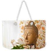 Buddha Head Weekender Tote Bag