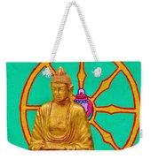 Buddha In The Grove Weekender Tote Bag