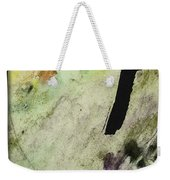 Buddha Ink Brush Calligraphy Weekender Tote Bag by Peter v Quenter