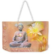 Buddha Of Compassion Weekender Tote Bag
