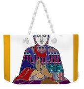 Buddha Spirit Humanity Buy Faa Print Products Or Down Load For Self Printing Navin Joshi Rights Mana Weekender Tote Bag