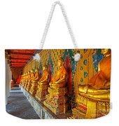 Buddhas At Wat Arun, Bangkok Weekender Tote Bag
