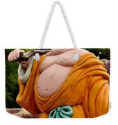 Buddhist Monk On Journey Haw Par Villas Singapore Weekender Tote Bag