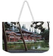 Buddhist Temple, Byodo-in Temple Weekender Tote Bag